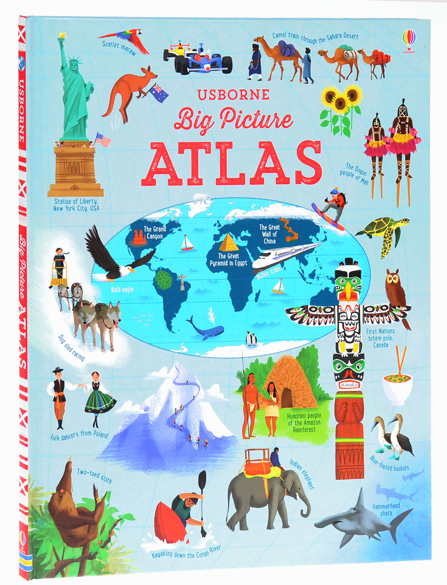 Big Picture Atlas atlas of the world picture book