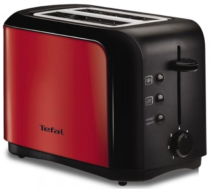 Tefal TT356E30 тостерTT356E30Тостер Tefal TT356E30 представляет собой сочетание удобства, функциональности и элегантного внешнего вида.Его корпус сконструирован таким образом, чтобы не нагреваться при работе. Вы можете регулировать степеньподжаривания хлеба (доступно 7 режимов) по вашему вкусу. Прибор также имеет функции подогрева иразморозки. Кнопка отмена поможет вовремя исправить сделанную спросонья ошибку. Ухаживать за тостеромлегко и приятно благодаря наличию поддона для крошек.