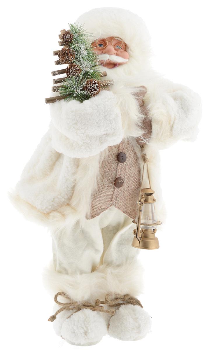 Фигурка новогодняя ESTRO Дед Мороз с лампой, цвет: белый, бежевый, высота 60 смC21-241151Декоративная фигурка Дед Мороз с лампой изготовлена из высококачественных материалов в оригинальном стиле. Фигурка выполнена в виде Деда Мороза с лампой.Уютнаяи милая интерьерная игрушка предназначена для взрослых и детей, для игр и украшения новогодней елки, да и просто, для создания праздничной атмосферыв интерьере! Фигурка прекрасно украсит ваш дом к празднику, а в остальные дни с ней с удовольствием будут играть дети. Оригинальный дизайн и красочное исполнение создадут праздничное настроение. Фигурка создана вручную, неповторима и оригинальна. Порадуйте своих друзей и близких этим замечательным подарком!