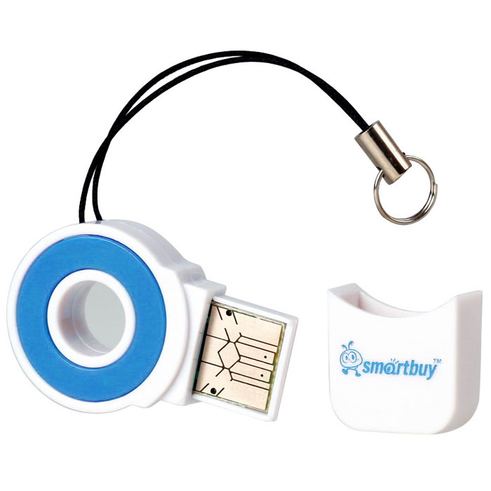 Smartbuy SBR-708-B, Blue картридерSBR-708-BSmartbuy SBR-708 - это устройство для чтения и записи данных на поддерживаемые карты памяти. Картридер дает возможность быстро переносить в память компьютера или записывать на карточку такие объемные данные, как фотографии, музыкальные записи, видеоролики. Данная модель подключается к USB порту и совместно с картой памяти может использоваться как внешнее хранилище. Не требует установки дополнительных драйверов. Работает без переходника.