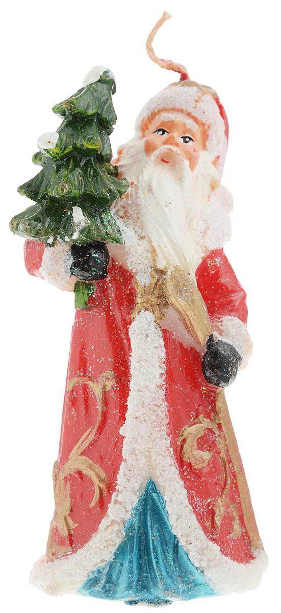 Свеча декоративная House & Holder Дед Мороз, цвет: красный, белый, высота 12 смDP-B84-3138_красныйСвеча House & Holder Дед Мороз, изготовленная из парафина, станет прекрасным украшением интерьера помещения в преддверии Нового года. Изделие украшено сверкающими блестками. Такая свеча создаст атмосферу таинственности и загадочности и наполнит ваш дом волшебством и ощущением праздника. Хороший сувенир для друзей и близких.