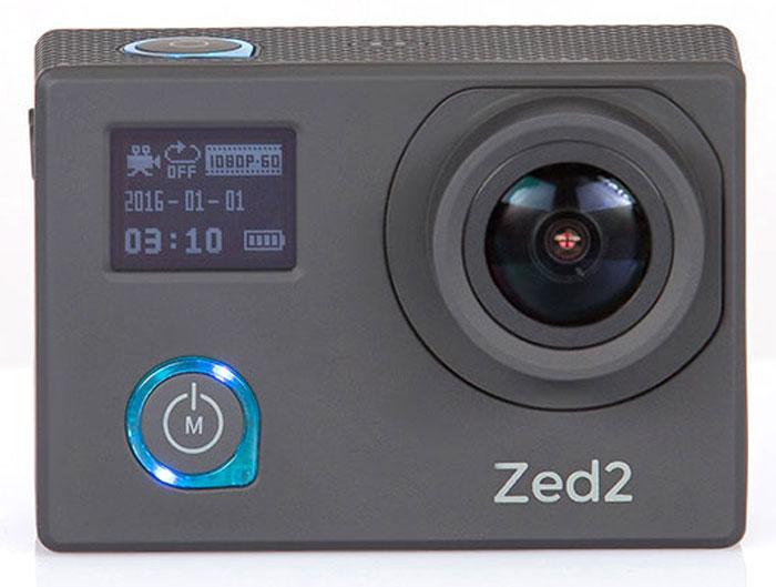 AC-Robin ZED2, Black экшн-камераАК-00000752Компактная, мощная и функциональная экшн-камера AC-Robin ZED2. Обеспечивает максимальное качество видеосъемки на высоких скоростях. Ваша драйвовая экшн-съемка с высококачественным результатом!Аппаратно-программный комплекс гиростабилизации ITG-1010A позволяет делать качественные фото даже на высоких скоростяхв условиях неравномерного движения и нелинейных ускорений.Матрица Sony Exmor-R CMOS имеет высокое разрешение и позволяет проводить видеосъемку в максимальном качестве, при этом достигая яркого и высококонтрастного изображения с минимальным уровнем шума. Благодаря своему строению, матрица Exmor-R CMOS имеет высокую светочувствительность, значительно превосходя аналоги по качеству съемки.Два дисплея: OLED 0,66 (64х48) и LCD 2,0 (640х480). Разный уровень яркости дисплеев позволяет легко подстраиваться под окружающие условия иснимать даже при ярком солнце.Все великолепие подводного мира теперь можно запечатлеть. Дайвинг режим обеспечивает компенсацию провала красного при подводной съемке.Все программное обеспечение камеры на русском языке - вы быстро найдете общий язык с AC Robin ZED2 и легко сможете управлять ею.Как выбрать экшн-камеру. Статья OZON Гид