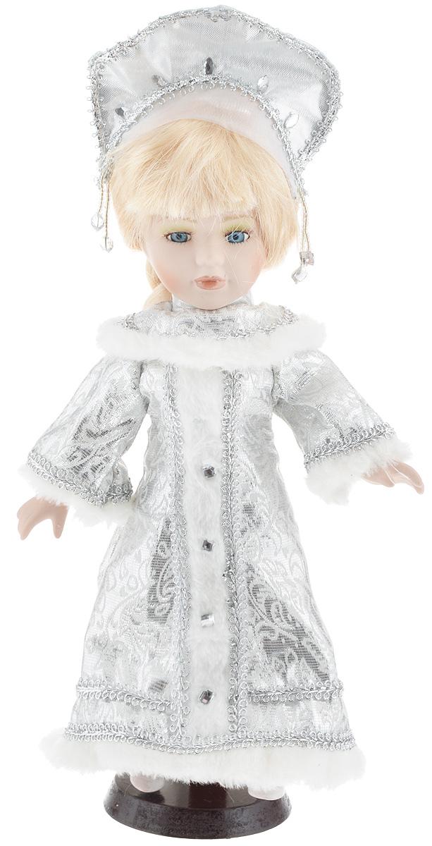 Фигурка новогодняя ESTRO Снегурочка, цвет: серебристый, белый, высота 30 смC21-128228Декоративная фигурка ESTRO Снегурочка выполнена из высококачественных материалов в оригинальном стиле. Фигурка выполнена в виде Снегурочки.Уютная и милая интерьерная игрушка предназначена для взрослых и детей, для игр и украшения новогодней елки, да и просто, для создания праздничной атмосферыв интерьере! Фигурка прекрасно украсит ваш дом к празднику, а в остальные дни с ней с удовольствием будут играть дети. Оригинальный дизайн и красочное исполнение создадут праздничное настроение. Фигурка создана вручную, неповторима и оригинальна. Порадуйте своих друзей и близких этим замечательным подарком!