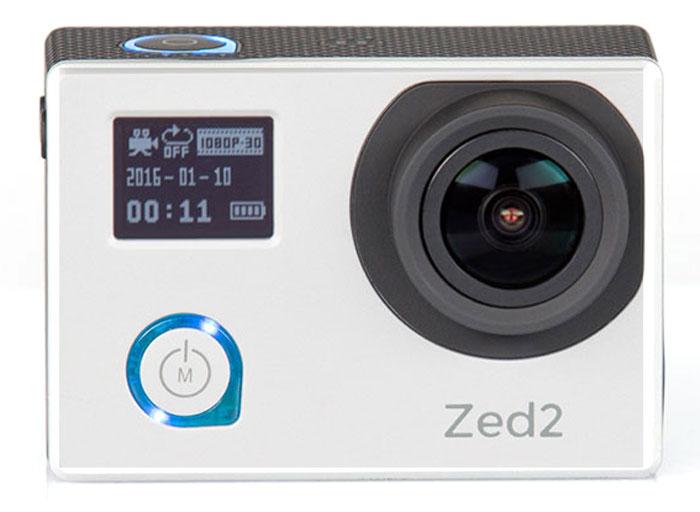 AC-Robin ZED2, Silver экшн-камераАК-00000753Компактная, мощная и функциональная экшн-камера AC-Robin ZED2. Обеспечивает максимальное качество видеосъемки на высоких скоростях. Ваша драйвовая экшн-съемка с высококачественным результатом!Аппаратно-программный комплекс гиростабилизации ITG-1010A позволяет делать качественные фото даже на высоких скоростяхв условиях неравномерного движения и нелинейных ускорений.Матрица Sony Exmor-R CMOS имеет высокое разрешение и позволяет проводить видеосъемку в максимальном качестве, при этом достигая яркого и высококонтрастного изображения с минимальным уровнем шума. Благодаря своему строению, матрица Exmor-R CMOS имеет высокую светочувствительность, значительно превосходя аналоги по качеству съемки.Два дисплея: OLED 0,66 (64х48) и LCD 2,0 (640х480). Разный уровень яркости дисплеев позволяет легко подстраиваться под окружающие условия иснимать даже при ярком солнце.Все великолепие подводного мира теперь можно запечатлеть. Дайвинг режим обеспечивает компенсацию провала красного при подводной съемке.Все программное обеспечение камеры на русском языке - вы быстро найдете общий язык с AC Robin ZED2 и легко сможете управлять ею.