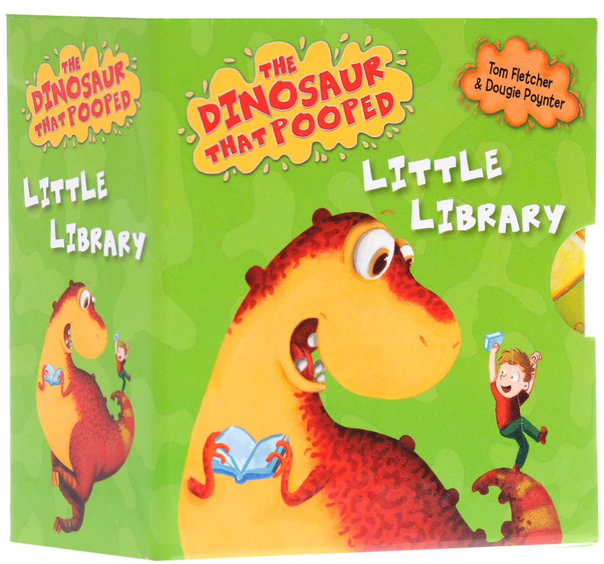 The Dinosaur That Pooped Little Library little library 6 books