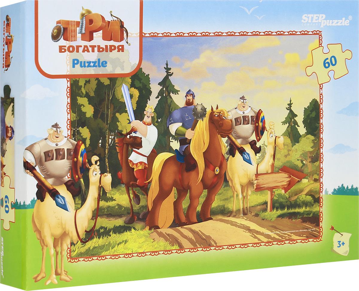 Step Puzzle Пазл для малышей Три богатыря 81151, Степ Пазл ЗАО (Россия)