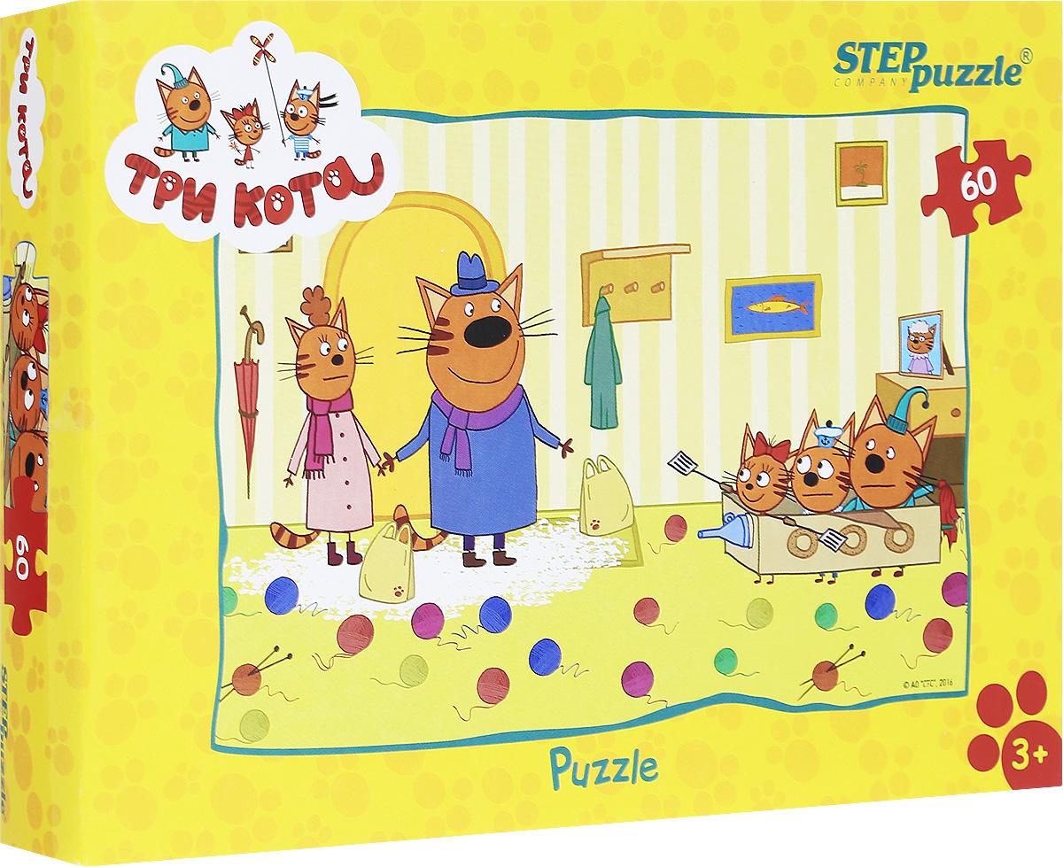 Step Puzzle Пазл для малышей Три кота 81152, Степ Пазл ЗАО (Россия)