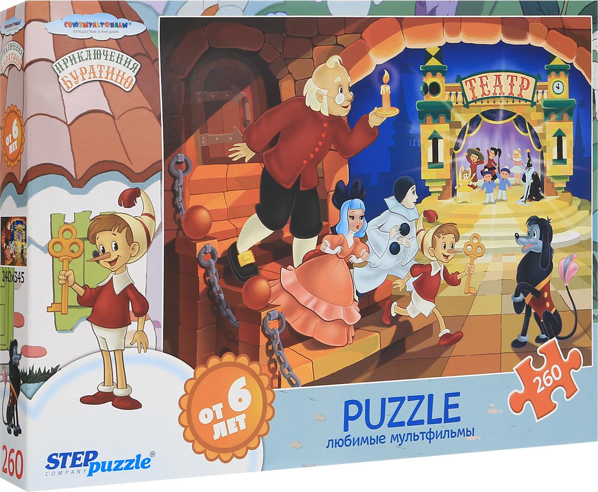 Step Puzzle Пазл Приключения Буратино 74062