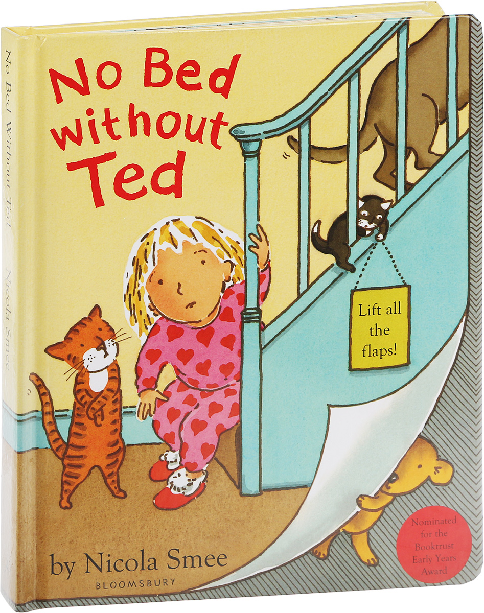 No bed without ted go to bed blue