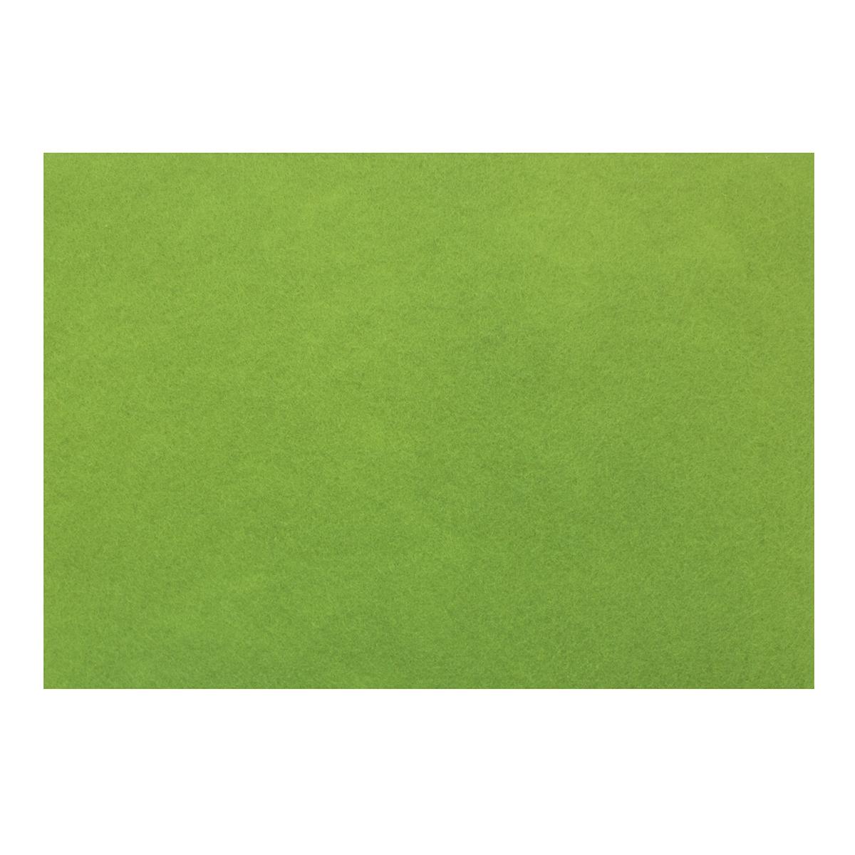 Фетр листовой Астра, цвет: салатовый, 20 х 30 см, 10 шт7708618_YF 674 салатовый