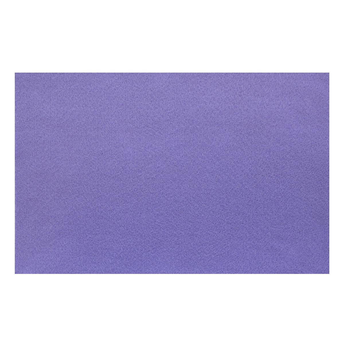Фетр для творчества Glorex, цвет: лиловый, 20 x 30 см318727