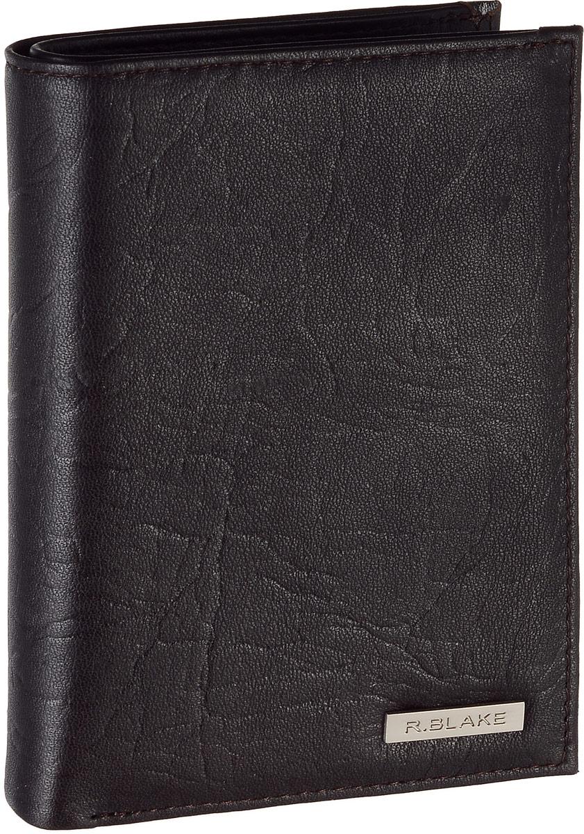 Купить Обложка для автодокументов мужская R.Blake Cover Money Brooklyn , цвет: темно-коричневый. GCVY00-000000-FH813T-K100,