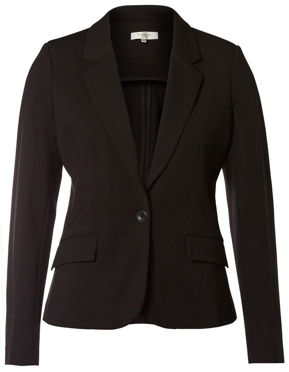 Жакет женский Selected Femme, цвет: черный. 16054958. Размер S (42) s t dupont 58 avenue montaigne pour femme