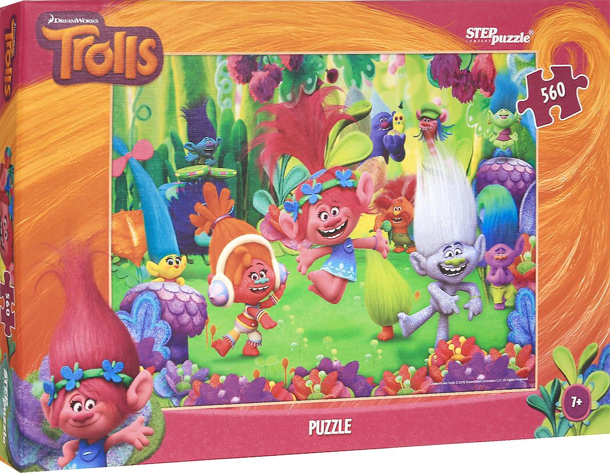 Step Puzzle Пазл Trolls 97044