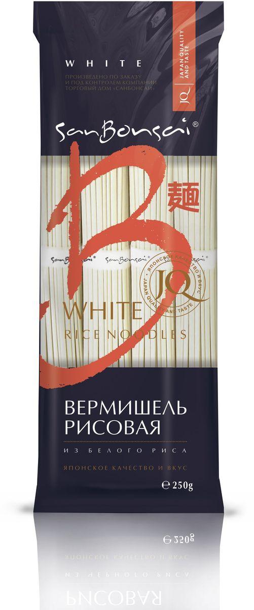 SanBonsai вермишель из белого риса, 250 г чим чим вермишель фунчоза бобовая 100 г