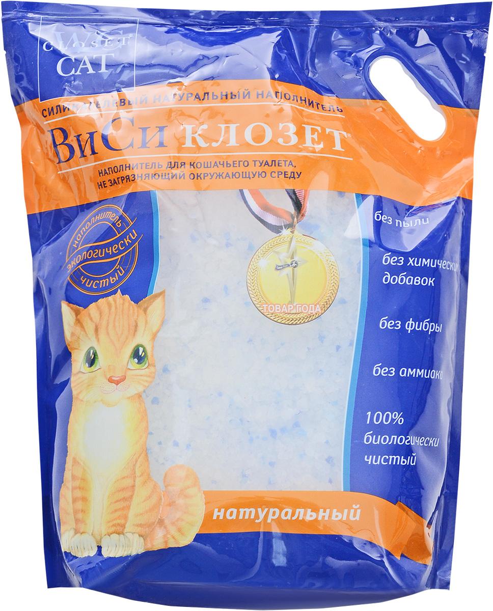 Наполнитель для кошачьего туалета  ВиСи клозет , силикагелевый, 7,6 л - Наполнители и туалетные принадлежности
