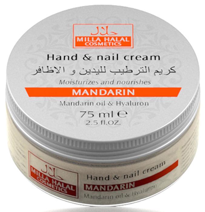 Milla Halal Cosmetics Крем для рук и ногтей с маслом мандарина, гиалуроном и пчелиным воском MILLA MANDARIN, 75МЛ10781100% натуральный продукт. Увлажняющий крем для рук и ногтей содержит эфирное масло мандарина, которое смягчает кожу, питает и делает её упругой. Благодаря уникальному набору масел и пчелиному воску, крем укрепляет структуру ногтей и защищает их от внешних негативных воздействий. Подходит для всех типов кожи.