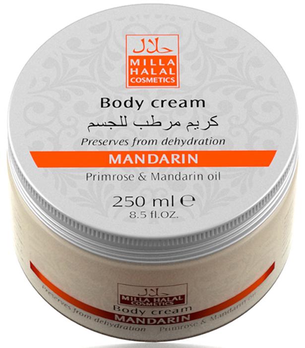 Milla Halal Cosmetics Крем для тела с маслами абрикосовой косточки и мандарина MILLA MANDARIN, 250МЛ10786100% натуральный продукт. Крем для тела с уникальным составом масел питает и увлажняет кожу, делает её молодой и упругой. Косметическое средство насыщает кожу витаминами и антиоксидантами, способствует удержанию влаги.