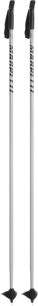 Палки для беговых лыж Marpetti, длина 145 смL402079PMСпортивные палки Marpetti - это превосходный выбор для любителей активного катания на лыжах. Модель выполнена из легкого алюминия. Пластиковая рукоятка имеет удобный хват, благодаря которому рука не мерзнет и не скользит. Гоночный темляк удобно надевается и надежно поддерживает кисть. Большая гоночная лапка с твердосплавным наконечником не проваливается в снег.Спортивные палки подойдут как начинающим лыжникам, так и опытным спортсменам.