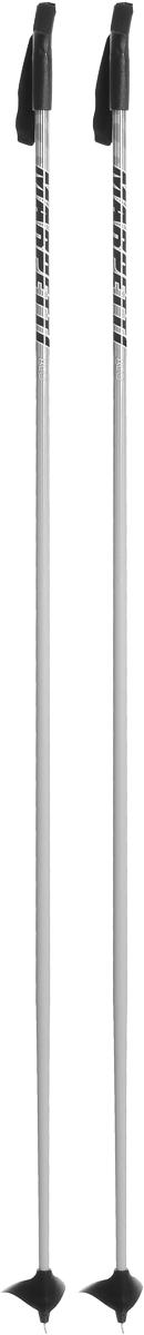 Палки для беговых лыж Marpetti, длина 170 смL402079PMСпортивные палки Marpetti - это превосходный выбор для любителей активного катания на лыжах. Модель выполнена из легкого алюминия. Пластиковая рукоятка имеет удобный хват, благодаря которому рука не мерзнет и не скользит. Гоночный темляк удобно надевается и надежно поддерживает кисть. Большая гоночная лапка с твердосплавным наконечником не проваливается в снег.Спортивные палки подойдут как начинающим лыжникам, так и опытным спортсменам.Как выбрать беговые лыжи. Статья OZON Гид