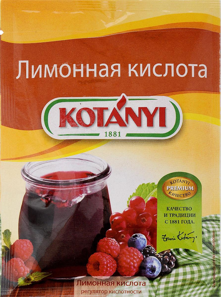 Kotanyi Лимонная кислота, 30 г118411Все началось в 1881 году, когда Януш Котани основал мельницу по переработке паприки. Позже добавились лучшие специи и пряности со всего света. Как в те времена, так и сегодня, используются только самые качественные ингредиенты для создания особого вкуса Kotanyi. Прикоснитесь и вы к источнику такого вдохновения!Чтобы консервированные фрукты и ягоды сохранили свой натуральный цвет, интенсивный фруктовый вкус и аромат, используйте лимонную кислоту Kotanyi. Она также поможет сохранить красивую форму фруктов и ягод без добавления желатина. Применение: для приготовления конфитюров, варенья, компотов, фруктовых сиропов и соков.