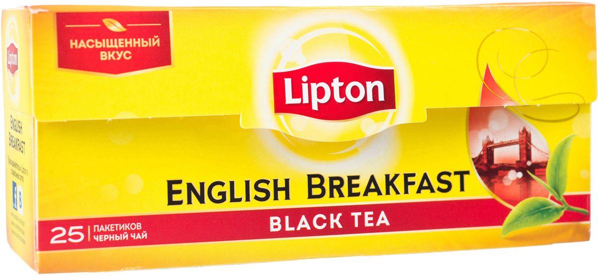Lipton Черный чай English Breakfast 25 шт21072021Крепкий и бодрящий чай Lipton English Breakfast – это идеальный напиток для начала дня, который подарит энергию, силы и вдохновение, настроит на нужную волну с самого утра. Вкус, пробуждающий, как первый луч солнца, – что может быть лучше? Одна чашка высококачественного черного чая с насыщенным вкусом и благородным, мягким ароматом взбодрит в утренние часы и сделает ваше пробуждениекомфортным, а день максимально продуктивным.