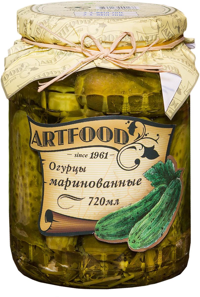 цены Artfood огурцы маринованные, 720 мл