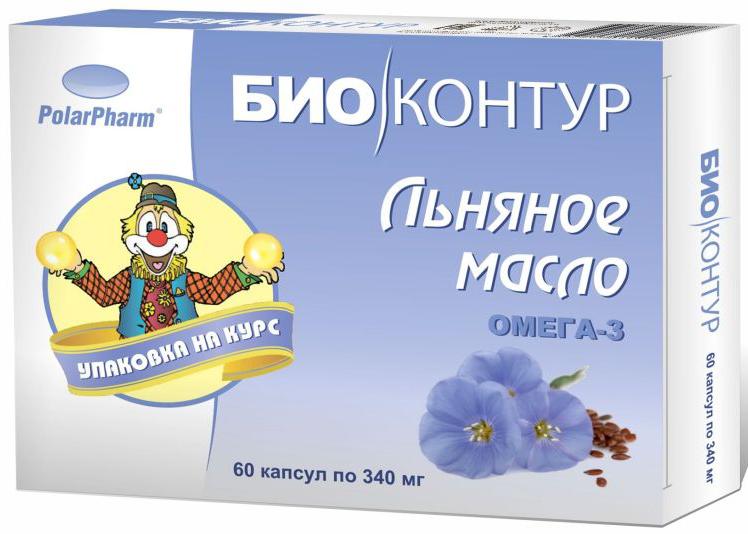 Льняное масло БиоКонтур, в капсулах 340 мг, №604607097011917Льняное масло БиоКонтур в капсулах 340 мг №60 оказывает положительное влияние на сердечно-сосудистую систему способствует нормализации работы клеток мозга благотворно влияет на нервную систему Состав: масло льна, оболочка (желатин, глицерин (пластификатор), вода), витамин Е.Товар не является лекарственным средством.Могут быть противопоказания и следует предварительно проконсультироваться со специалистом.