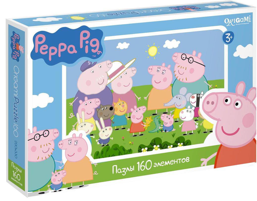 Оригами Пазл Peppa Pig 01543