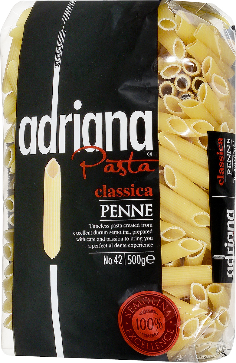 Adriana Penne паста, 500 г adriana pasta spaghetti express 2 minuti паста 500 г