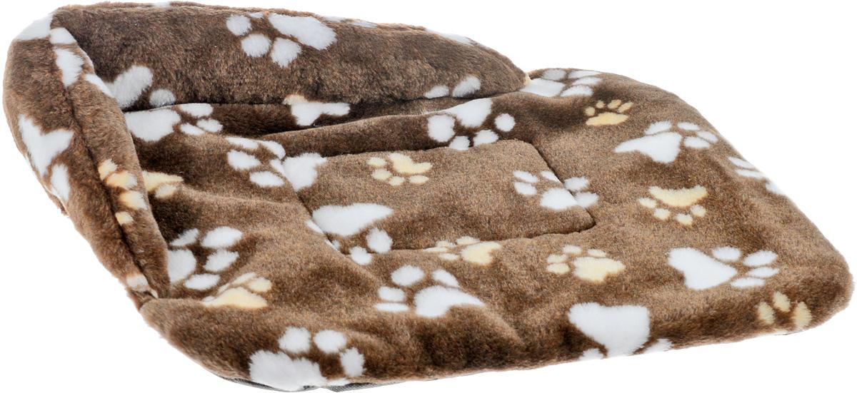 """Лежак для животных Elite Valley """"Софа"""", цвет: бежевый, белый, коричневый, 46 х 33 х 11 см. Л-6/1"""