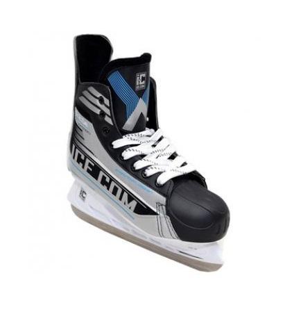 Коньки хоккейные Ice.Com A 2.0e 2014, цвет: серый, синий, черный. Размер 38