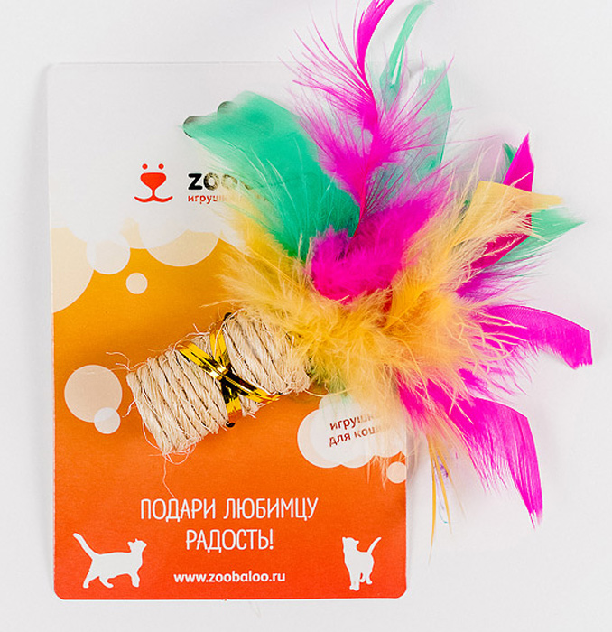 Игрушка для кошек Zoobaloo Когтеточка с пером331Игрушка Zoobaloo Когтеточка с пером предназначена для кошек. Эта привлекательная когтеточка изготовлена из сизалевой ткани, украшена яркими перьями и позволит вам избежать появления царапин на мебели! Ваш питомец сможет затачивать когти без вреда интерьеру вашего дома. Кошачья мята делает игрушку отличным аксессуаром для самостоятельной игры.Уважаемые клиенты! Обращаем ваше внимание на возможные изменения в цвете деталей товара. Поставка осуществляется в зависимости от наличия на складе.