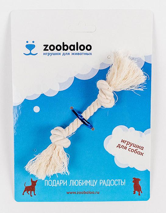 Грейфер для собак Zoobaloo, длина 13 см410Грейфер для собак мелких пород Zoobaloo изготовлен из перекрученной хлопчатобумажной веревки и несомненно привлечет внимание вашей собаки. Традиционная игрушка для собак. Прочный и долговечный, абсолютно безопасный.