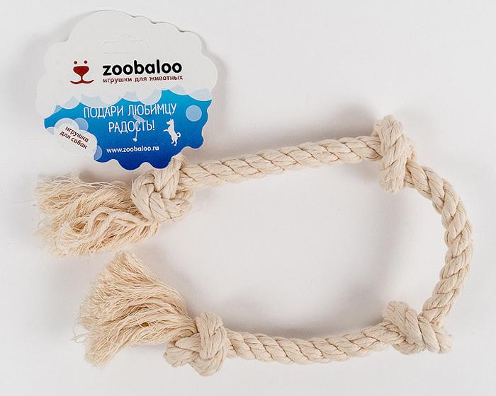 Грейфер для собак Zoobaloo, длина 50 см игрушки для животных zoobaloo грейфер для м собак из х б веревки 13см d 10мм
