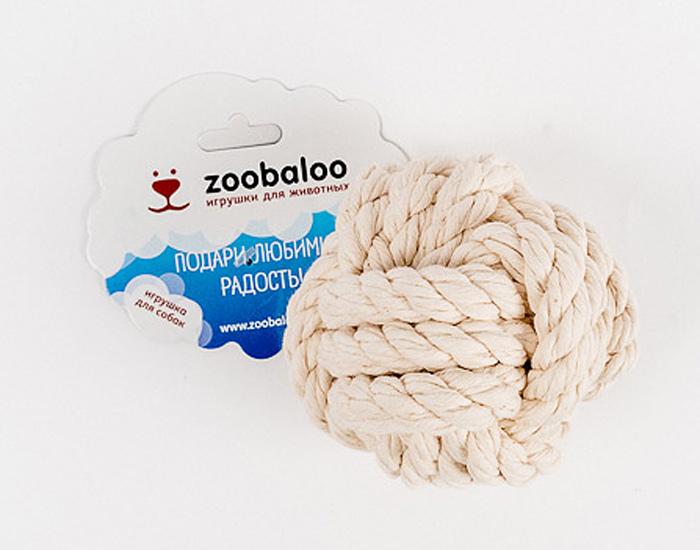 Игрушка для собак Zoobaloo Кулак обезьяны игрушки для животных zoobaloo грейфер для м собак из х б веревки 13см d 10мм