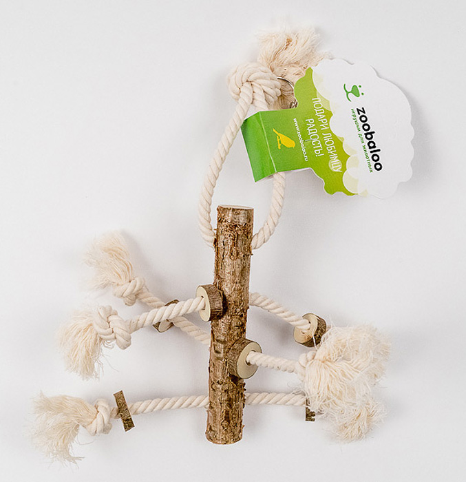 Игрушка для птиц Zoobaloo Чуча кружка птичье молоко