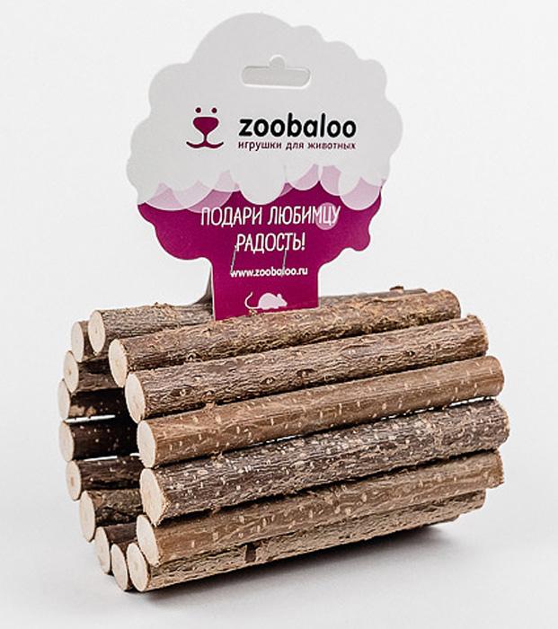 Тоннель для грызунов Zoobaloo. 658658Тоннель Zoobaloo, изготовленный из орешника, предназначен для грызунов. Абсолютно натуральный, он является идеальным аксессуаром для клеток. Превосходный аттракцион для вашего любимца - прекрасное средство разнообразить досуг и всегда оставаться в форме!