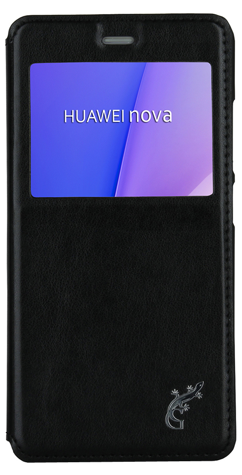 G-Case Slim Premium чехол для Huawei Nova, Black чехол книжка g case slim premium для apple ipad mini 4 темно зелёный