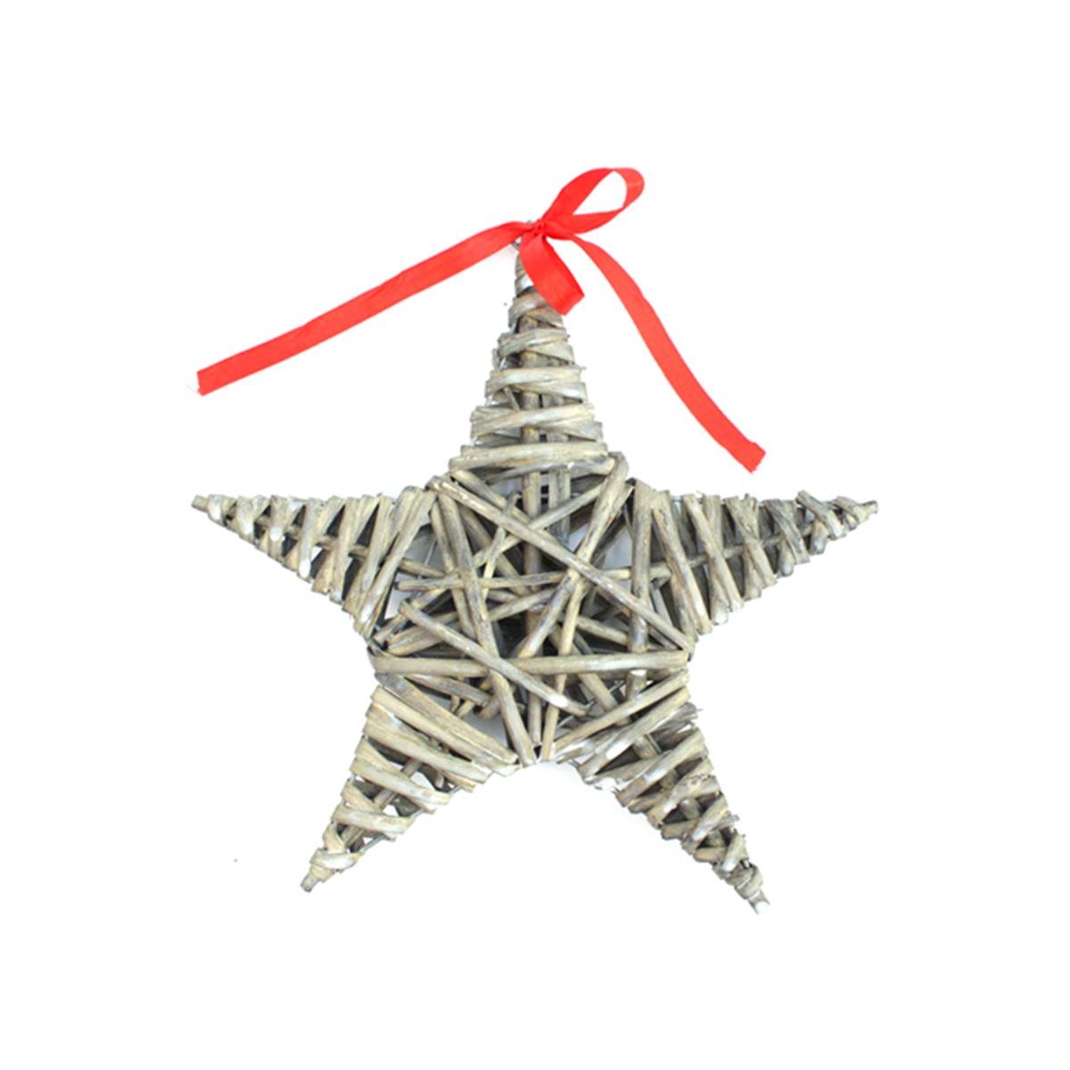 Декоративный элемент Glorex Звезда, цвет: серый, диаметр 25 см толстовка champion толстовки из флиса