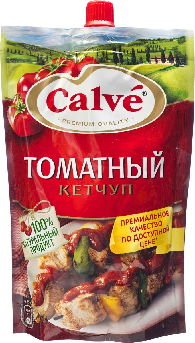 Calve Кетчуп Томатный, 350 г heinz кетчуп итальянский 350 г