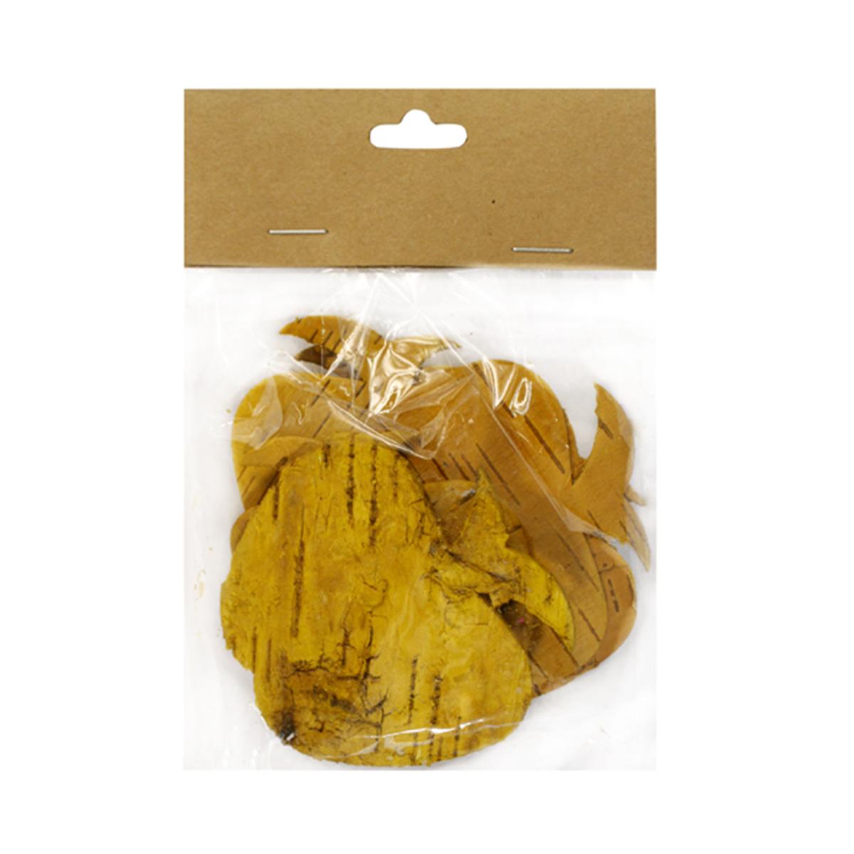 Декоративные элементы YW028, цвет: желтый, 7 см, 8 шт7709016_желтый