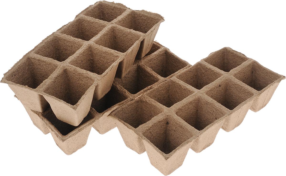 Торфяной горшочек Добрая сила, для выращивания рассады, 7 х 7 х 7,5 см, 24 штDS44140081Горшочек Добрая сила является органическим продуктом и представляет собой полую емкость, стенки которого выполнены из торфо-древесной массы с добавлением мела.Рекомендуется для лучшего прорастания накрыть горшочки стекломили пленкой. Выращенную рассаду необходимо высаживать в грунт вместе с горшком.В комплекте 3 блока по 8 горшочков.Состав: торф верховой 70%, древесная масса 30%, мел, pH не менее 5,5.Размер горшка: 7 х 7 х 7,5 см.Размер одного блока: 31 х 15 х 7,5 см.
