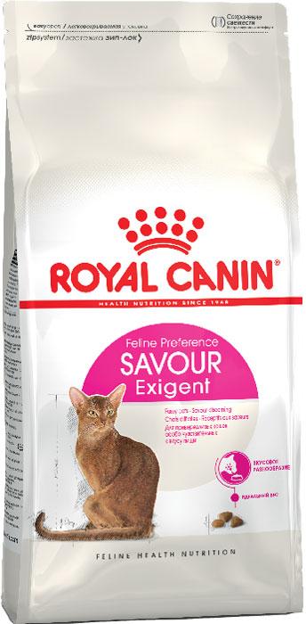 Корм сухой Royal Canin Exigent 35/30 Savoir Sensation, для кошек, привередливых к вкусу продукта, 10 кг корм сухой royal canin exigent 35 30 savoir sensation для кошек привередливых к вкусу продукта 400 г