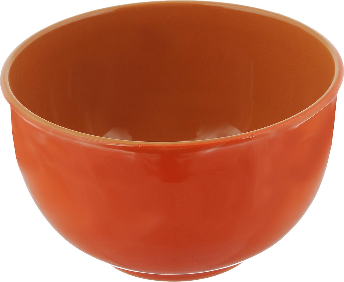 Салатник Борисовская керамика Радуга, цвет: оранжевая, коричневый, 2 лРАД00000524_оранжевый, коричневыйСалатник Борисовская керамика Радуга выполнен из высококачественной глазурованной керамики. Этот большой и вместительный салатник необходим на любом застолье, он идеально подходит для сервировки салатов и закусок. Изделие термостойкое, поэтому его можно использовать для запекания в духовке и микроволновой печи, с последующим хранением в нем приготовленной пищи. Такой яркий салатник отлично дополнит сервировку стола и подчеркнет ваш изысканный вкус.Диаметр (по верхнему краю): 20 см.Высота стенки: 12 см.