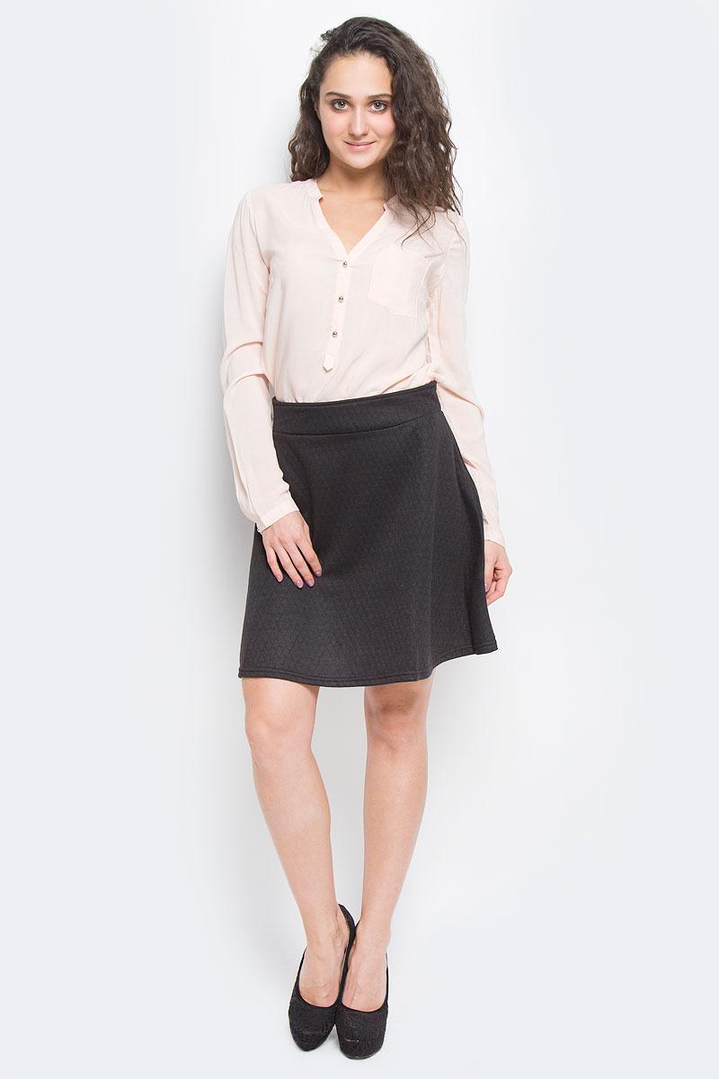 Юбка Broadway, цвет: черный. 10151790 999. Размер S (44)10151790 999Оригинальная юбка Broadway выполнена из высококачественного полиэстера, она обеспечит вам комфорт и удобство при носке.Очаровательная юбка с застегивается на застежку-молнию сзади, имеет широкий пришивной пояс. Модель оформлена стеганым узором.Стильная юбка-миди выгодно освежит и разнообразит любой гардероб. Создайте женственный образ и подчеркните свою яркую индивидуальность! Классический фасон и оригинальное оформление этой юбки сделают ваш образ непревзойденным.