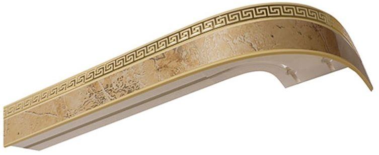"""Бленда для шинного карниза Эскар """"Мокко Греция"""", ширина 5 см, длина 240 см"""