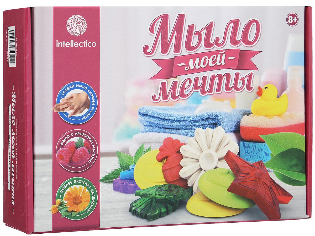 Intellectico Набор для изготовления мыла С ароматом малины