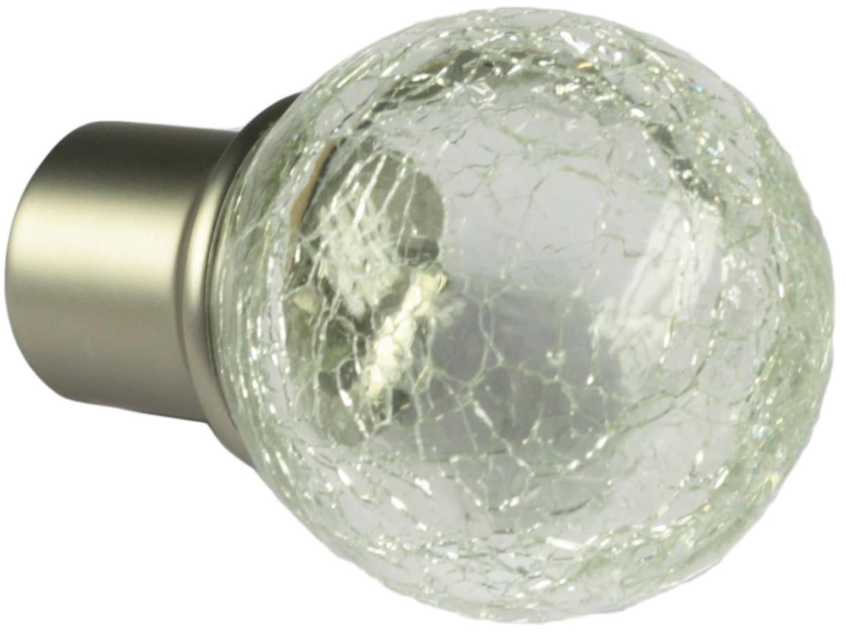 Наконечник-заглушка Эскар Стеклянный шар, для металлического карниза, цвет: латунь, диаметр 16 мм, 2 шт902401302Торцевые декоративные окончания карнизов с износостойким покрытием, в процессе эксплуатации не тускнеют, не теряет своего цвета. Прочный слой покрытия увеличивают срок службы наконечников. Наконечники карнизов оснащены винтиком для фиксации наконечника на направляющей трубе карниза. Наконечники карниза для штор индивидуально упакованы.Карнизными наконечниками можно создать индивидуальный карниз для любого стиля интерьера. Например, шторный карниз можно скомплектовать с разными формами окончаний одного цвета, или украсить окончаниями другим цветом что тоже визуально придаст карнизу в интерьере эстетически интересный вид.Окончания для карнизов диаметромразличных диаметров имеются в большом ассортименте, купить наконечники для карниза Вы сможете по самым низким ценам.