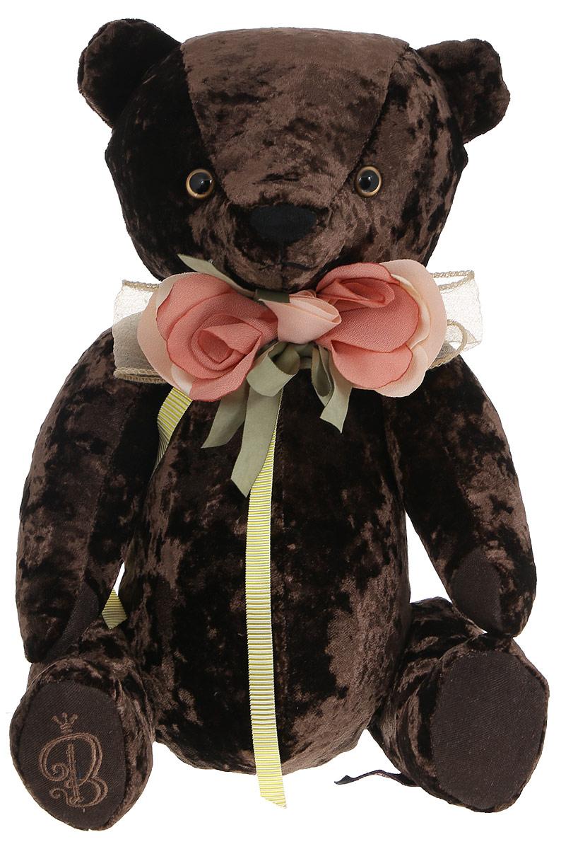 BernArt Мягкая игрушка Медведь цвет коричневый 28 см мягкая игрушка белый медведь 27 см